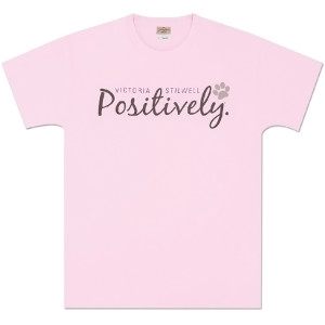 Positively Unisex T-Shirt - Light Pink