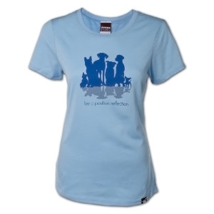 Be a Positive Reflection Ladies T-Shirt