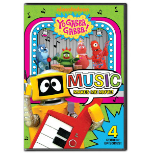 Yo Gabba Gabba! Music to Move You DVD