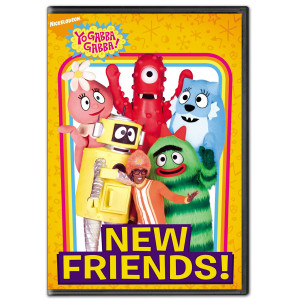 Yo Gabba Gabba! New Friends DVD