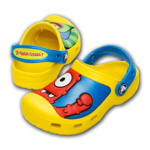 Yo Gabba Gabba! Crocs Kids Clogs