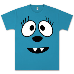Yo Gabba Gabba! Toodee Face Unisex T-shirt