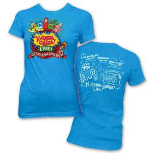 "Yo Gabba Gabba! Live! Ladies ""Get The Sillies Out"" Tour T-shirt"