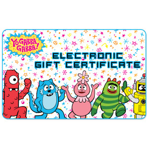 Yo Gabba Gabba Gift Certificate