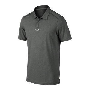 Heather Grey Oakley Polo