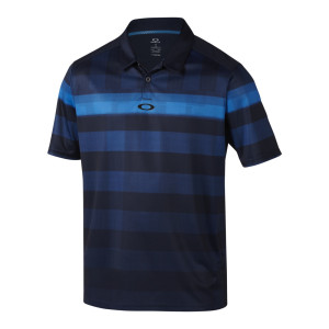 Blue and Black Checkered Oakley Polo