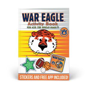 Auburn Tigers Activity Book