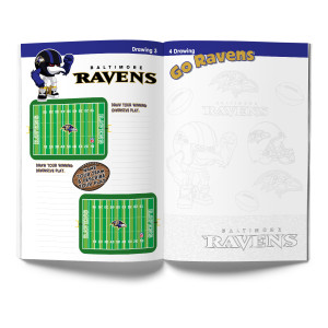 Baltimore Ravens Childrens Activity Book