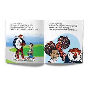 Auburn Tigers- Aubie, My Pal Book