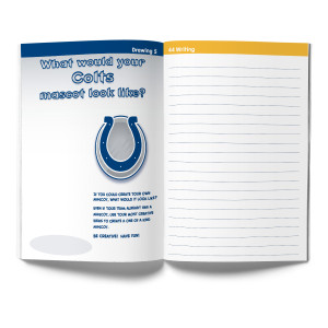 Indianapolis Colts Activity Book