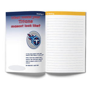Tennessee Titans Activity Book