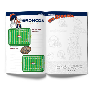 Denver Broncos Activity Book