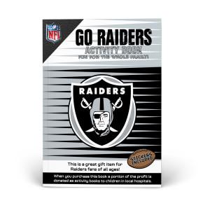 Oakland Raiders Activity Books