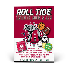 Alabama Crimson Tide Activity Book