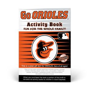 Baltimore Orioles Activity Book