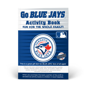 Toronto Blue Jays Activity Book