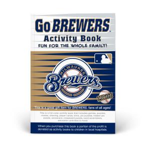 Milwaukee Brewers Activity Book