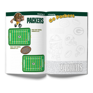 Green Bay Packers Activity Book