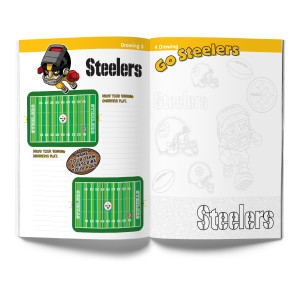 Pittsburgh Steelers Activity Book