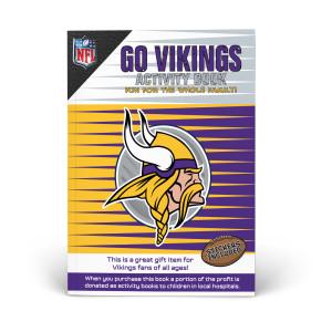 Minnesota Vikings Activity Book