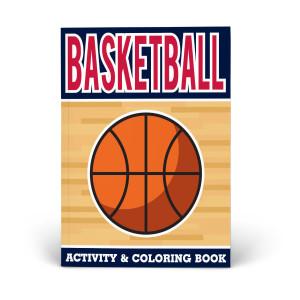 Basketball Activity & Coloring Book