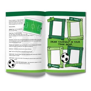 Soccer Activity & Coloring Book