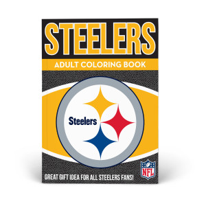Pittsburgh Steelers Adult Coloring Book