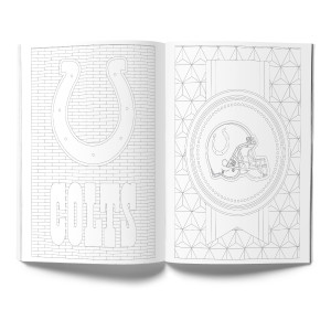 Indianapolis Colts Adult Coloring Book