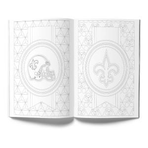 New Orleans Saints Adult Coloring Book