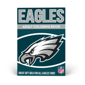 Philadelphia Eagles Adult Coloring Book