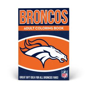 Denver Broncos Adult Coloring Book