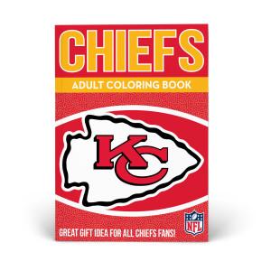 Kansas City Chiefs Adult Coloring Book