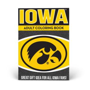 Iowa Hawkeyes Adult Coloring Book