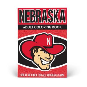 Nebraska Huskers Adult Coloring Book