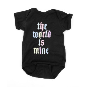 The World Is Mine Onesie