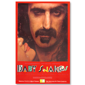 Frank Zappa Baby Snakes - The Movie Poster