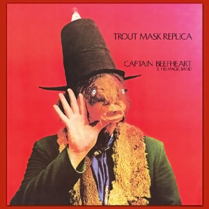 TROUT MASK REPLICA CD - CAPTAIN BEEFHEART &  HIS MAGIC BAND Produced by FRANK ZAPPA