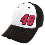 Jimmie Johnson Paint the Track Pink Driver Hat