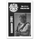 Sting Summer 2001 Newsletter