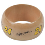 Jeff Gordon #24 Light Wood Bangle Bracelet
