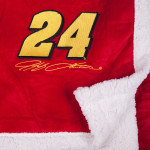 Jeff Gordon #24 Sherpa Blanket