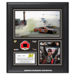 Jeff Gordon 2014 NASCAR Sprint Cup Series AAA 400 Race Win Framed 15'' x 17'' Collage With Race-Used Tire