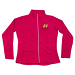 Jeff Gordon - #24 Signature Ladies Full Zip Fleece Sweat Shirt