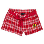Jeff Gordon Ladies' Flannel Short