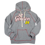 Checkered Flag Sports Jeff Gordon - Ladies Contrast Fleece Hoodie