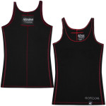 Jeff Gordon #24 Ladies' Contrast Stitch Tank Black