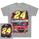 Jeff Gordon #24 Drive to End Hunger Silver Streak T-shirt