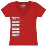 Jeff Gordon #24 Ladies Drive By T-shirt