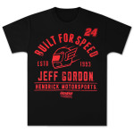 Jeff Gordon #24 Old School Helmet T-shirt