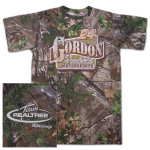 Jeff Gordon #24 Realtree Xtra Green Blind T-shirt